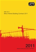 JCT Minor works building contract front page