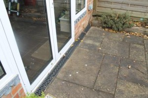 building survey door drainage