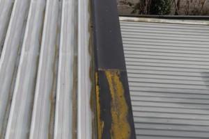 Steel clad roof