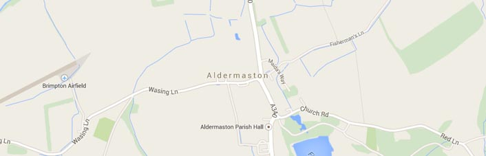 Aldermaston Map